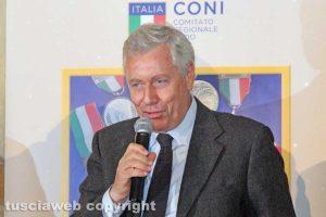 Viterbo - Il sindaco Leonardo Michelini