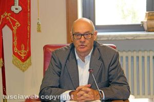 Il presidente della provincia Mazzola