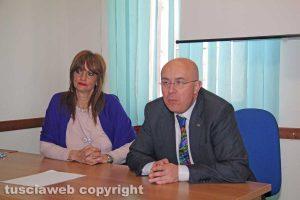 Silvia Somigli e Massimo Pistilli