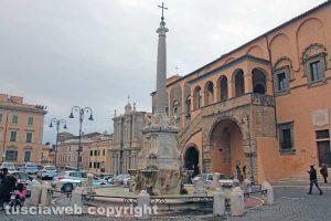 Tarquinia - La fontana di piazza Giacomo Matteotti