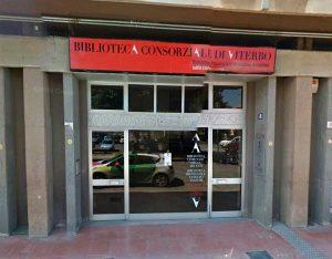 Viterbo - La biblioteca in viale Trento