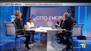 Vittorio Sgarbi a Otto e mezzo