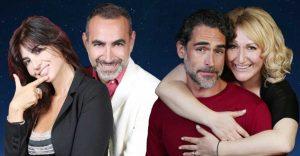 Francesca Nunzi, Diego Ruiz, Sergio Muniz, Maria Lauria
