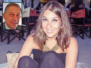 Elisa Scarascia Mugnozza - Nel riquadro: il padre Giuseppe