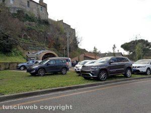 Viterbo - Parcheggi selvaggi a valle Faul
