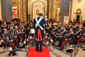 Viterbo - La banda dei carabinieri in concerto