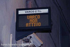 Viterbo - Il varco a via san Lorenzo