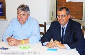 Umberto Fusco ed Enrico Maria Contardo