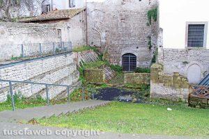 Viterbo - Palazzo di Vico - L'area esterna