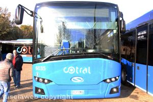Viterbo - Un bus Cotral