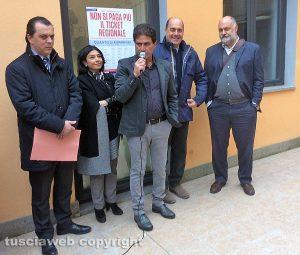 Marta - Zingaretti all'inaugurazione del poliambulatorio