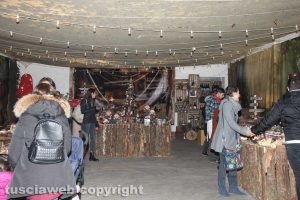 Viterbo - Caffeina christmas village - Babbo Natale