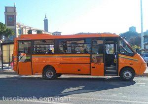 Viterbo - Un autobus della Francigena