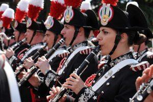 La Banda musicale dell'arma dei carabinieri