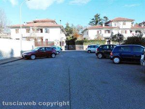 Viterbo - Una traversa di via G. Marescotti senza cartelli stradali