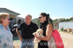 Canile di Bagnaia - La vicesindaca Luisa Ciambella con Elvia Viglino