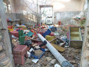 L'area coi rifiuti abbandonati sequestrata dalla finanza