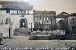 Viterbo - Come eravamo - Palazzo dei Papi nel 1895
