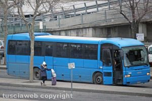 Un bus Cotral