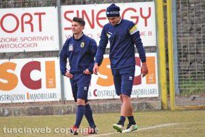 Sport - Calcio - Viterbese - Ignazio Battista e Andrea Doninelli