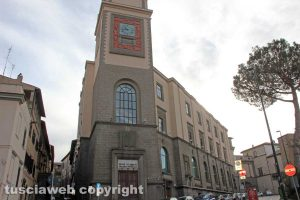 Viterbo - La sede centrale delle poste in via Ascenzi