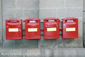 Poste - Cassette delle lettere