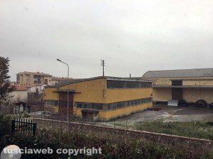 Maltempo - Fiocchi di neve a Tarquinia