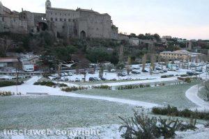 Viterbo - La neve di mattina - Valle Faul