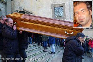 Viterbo - I funerali di Luciano Martoni