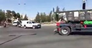 Gerusalemme - Camion contro soldati