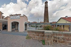 Civita Castellana - Il centro commerciale Piazza Marcantoni