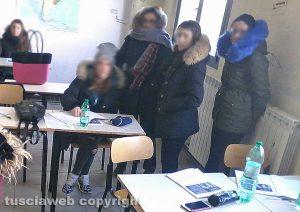 Civita Castellana - L'istituto Colasanti al freddo