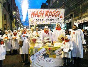 Ronciglione - Carnevale - Nasi rossi