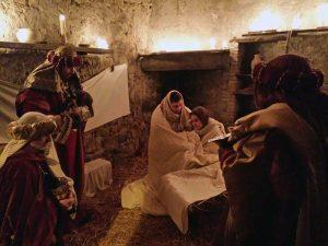 San Lorenzo nuovo - L'arrivo dei re magi al presepe