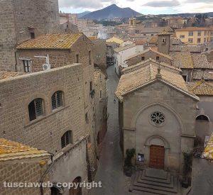 Viterbo - Una veduta di San Pellegrino