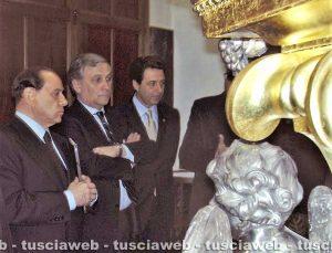 Viterbo - Come eravamo 2008 - Silvio Berlusconi, Antonio Tajani, Giulio Marini