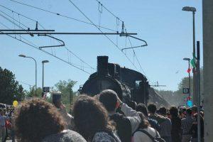 Roma - Il treno d'epoca a vapore