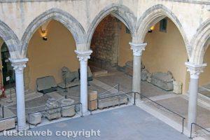 Tarquinia - Il museo Archeologico nazionale