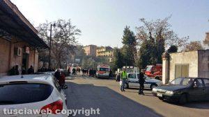 Civita Castellana - Ponte Clementino - I soccorsi sul posto