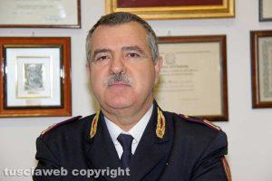 Viterbo - Polfer - Il comandante sostituto commissario Marco Buttinelli