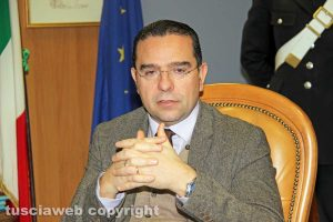 Viterbo - Il sostituto procuratore Massimiliano Siddi