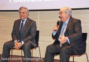 Antonio Tajani e Giuseppe Fioroni