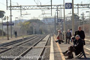 La stazione di Capranica-Sutri