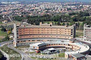 Viterbo - Il corpo A3 dell'ospedale di Belcolle