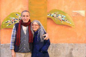 Bagnoregio - L'opera di Salvatore Ravo a piazza Cavour