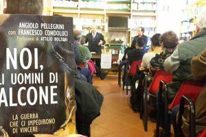 """Vasanello - Angiolo Pellegrini ha presentato il suo """"Noi, gli uomini di Falcone"""""""
