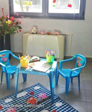 Tribunale - L'aula protetta per l'ascolto dei minori