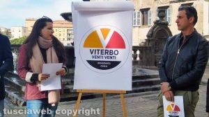 Viterbo - Chiara Frontini presenta il nuovo simbolo del movimento Viterbo 2020