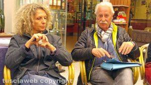 Antonella Bruni e Francesco Sterpa
