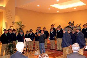 Le celebrazioni del gruppo Alpini per Don Gnocchi